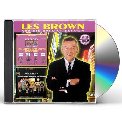 Les Brown LERNER & LOEWE BANDBOOK / RICHARD RODGERS BANDBOOK CD