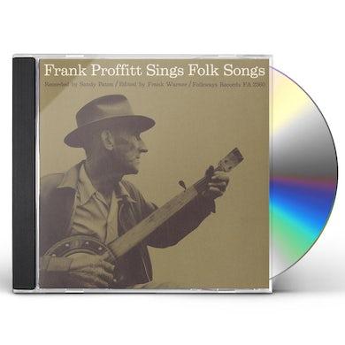 FRANK PROFFITT SINGS FOLK SONGS CD