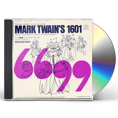 Richard Dyer-Bennet MARK TWAIN'S 1601 CD