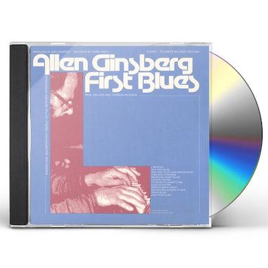 Allen Ginsberg FIRST BLUES: RAGS, BALLADS AND HARMONIUM SONGS CD
