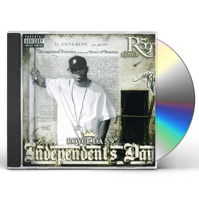 "Royce Da 5'9"" INDEPENDENT'S DAY CD"
