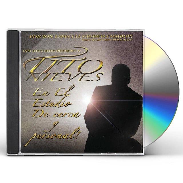Tito Nieves EN LOS ESTUDIOS DE CERCA Y PERSONAL CD