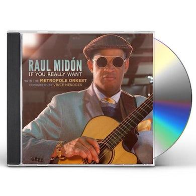 Raul Midon If You Really Want CD