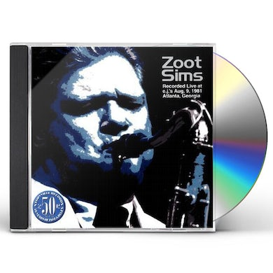 Zoot Sims LIVE AT E.J'S: LIMITED CD