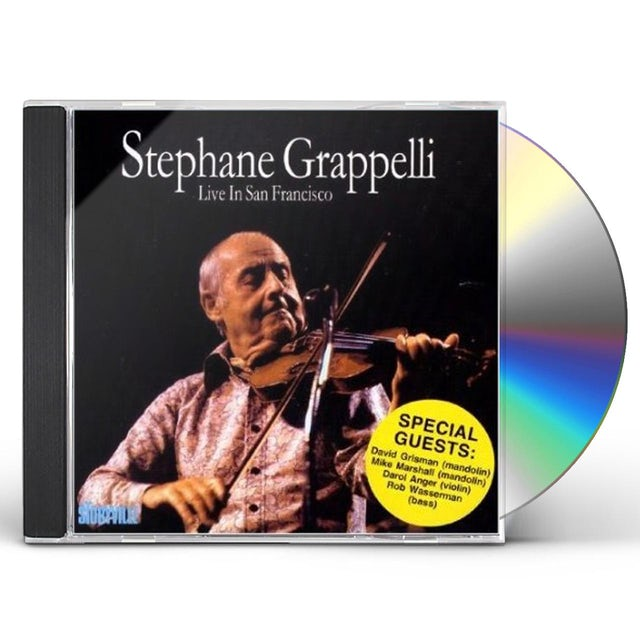 Stephane Grappelli LIVE IN SAN FRANCISCO: LIMITED CD