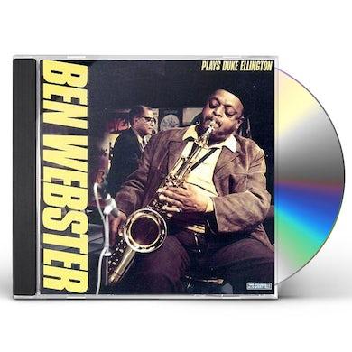 Ben Webster PLAYS DUKE ELLINGTON: LIMITED CD
