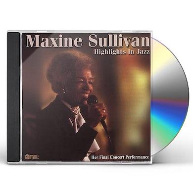 Maxine Sullivan HIGHLIGHTS IN JAZZ: LIMITED CD