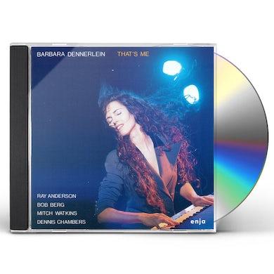 Barbara Dennerlein THAT'S ME CD