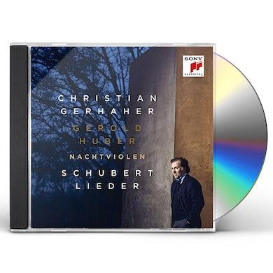 Christian Gerhaher NACHTVIOLEN SCHUBERT: LIEDER CD