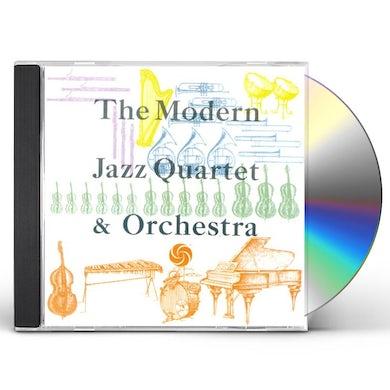The Modern Jazz Quartet & ORCHESTRA CD