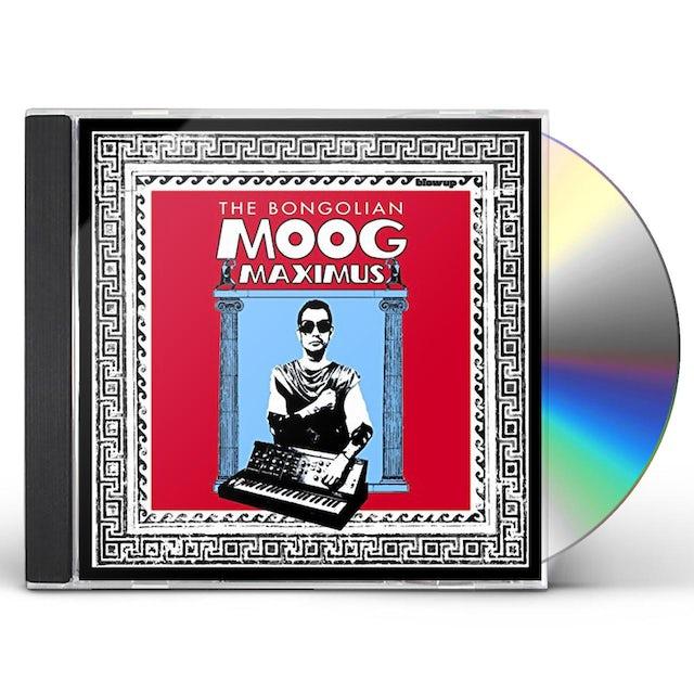 Bongolian MOOG MAXIMUS CD