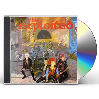 The Exploited TROOPS OF TOMORROW CD