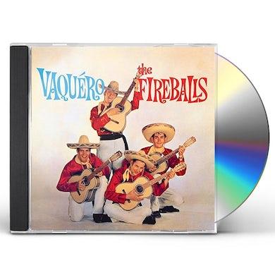 Fireballs VAQUERO CD