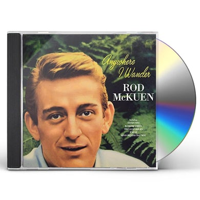 Rod McKuen ANYWHERE I WANDER CD