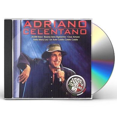 Adriano Celentano 100% ITALIANO CD
