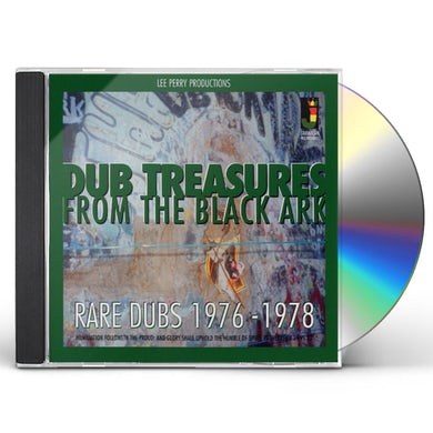 Lee Perry DUB TREASURES FROM THE BLACK ARK CD