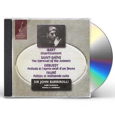 John Barbirolli FRENCH MUSIC CD