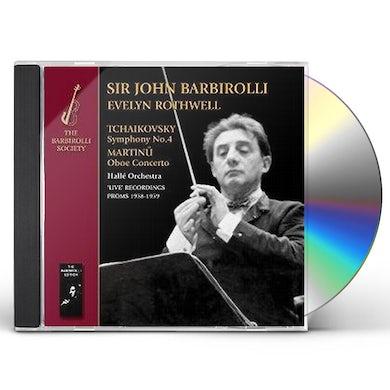 John Barbirolli TCHAIKOVSKY & MARTINU CD