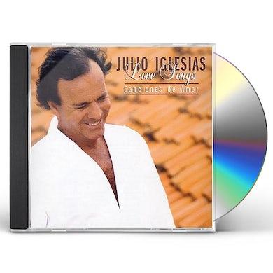 Julio Iglesias LOVE SONGS: CANCIONES DE AMOR CD