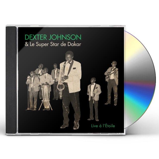 Dexter Johnson LIVE A LETOILE CD