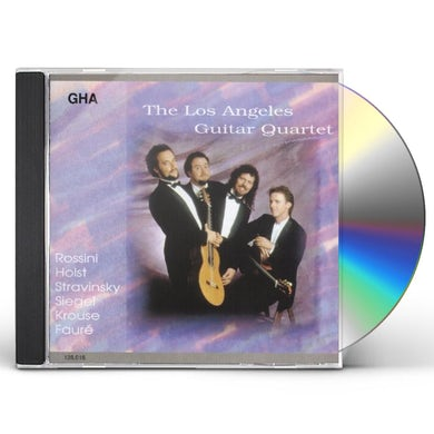 Los Angeles Guitar Quartet BARBER OF SEVILLE OVERTURE CD