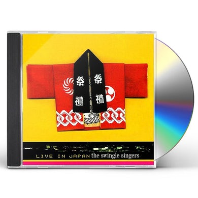 Swingle Singers LIVE IN JAPAN CD