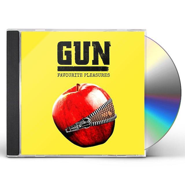Gun FAVOURITE PLEASURES CD