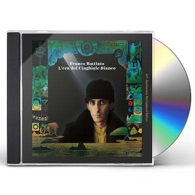 Franco Battiato L'ERA DEL CINGHIALE BIANCO 40TH ANNIVERSARY CD