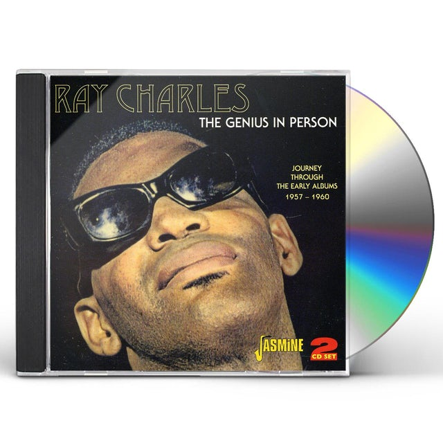 Ray Charles 4 LPS - GREAT & GENIUS OF & AT NEWPORT 1958 CD