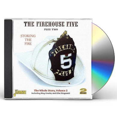 Firehouse Five Plus Two STOKING THE FIRE: WHOLE STORY 2 CD