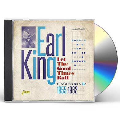 Earl King LET THE GOOD TIMES ROLL:SINGLES AS & BS 1955-1962 CD