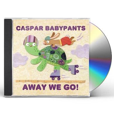 Caspar Babypants Away We Go! CD