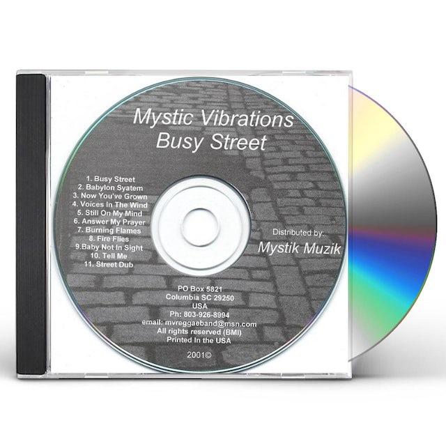 Mystic Vibrations BUSY STREET CD