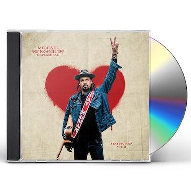 Michael Franti & Spearhead Stay Human Vol. II CD