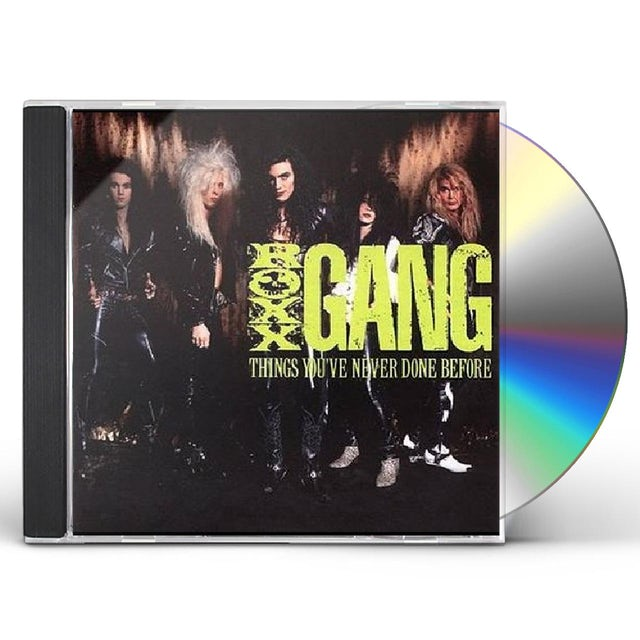 Roxx Gang THINGS YOU'VE NEVER DONE BEFORE CD