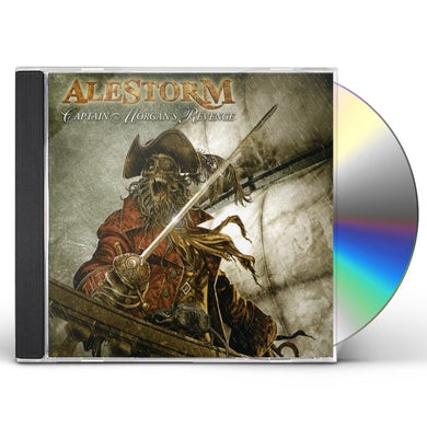 Alestorm CAPTAIN MORGAN'S REVENGE CD