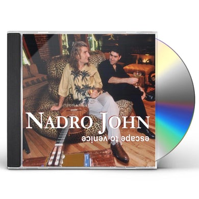 Nadro John ESCAPE TO VENICE CD