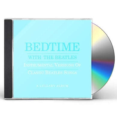 BEDTIME WITH BEATLES: A LULLABY ALBUM CD - Blue Vinyl