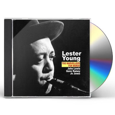 Lester Young TOO MARVELLOUS FOR WORDS CD