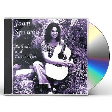 Joan Sprung BALLADS & BUTTERFLIES CD