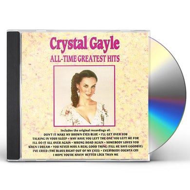 Crystal Gayle ALL-TIME GREATEST HITS CD