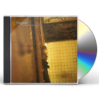 Fugazi STEADY DIET OF NOTHING CD