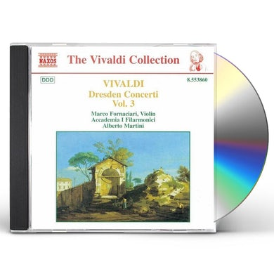 Vivaldi DRESDEN CONCERTOS 3 CD