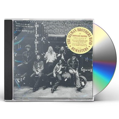 The Allman Brothers Band  LIVE AT FILLMORE EAST CD