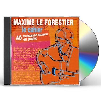 Maxime Le Forestier LE CAHIER CD