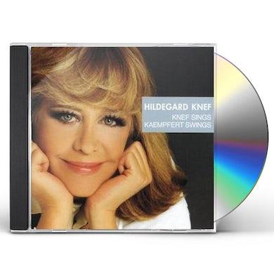 Hildegard Knef KNEF SINGS KAEMPFERT SWINGS CD