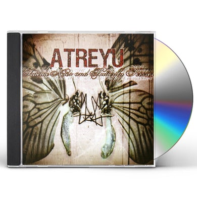 Atreyu SUICIDE NOTES & BUTTERFLY KISSES CD
