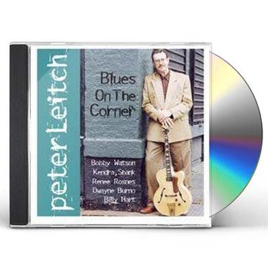 Peter Leitch BLUES ON CORNER CD