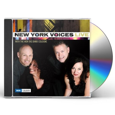 New York Voices LIVE WITH THE WDR BIG BAND COLOGNE CD