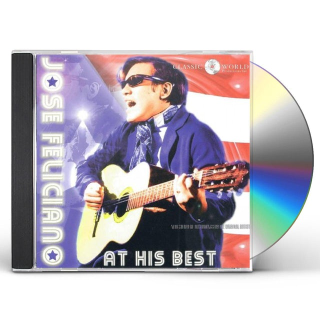 Jose Feliciano AT HIS BEST CD